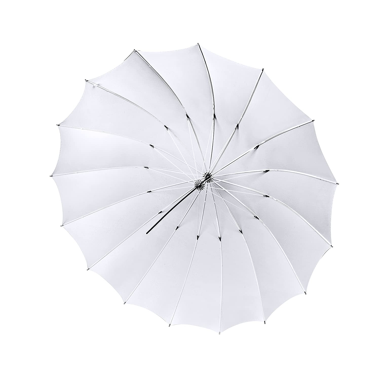 Bresser 08ジャンボ半透明傘、162 cm、ホワイト   B0161FFNS6