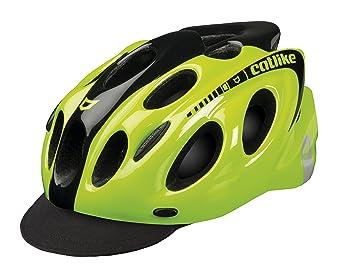 Catlike KompactO CV Casco de Ciclismo, Unisex Adulto, Amarillo (Yellow Fluor