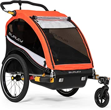 Burley Cub X Remolque de Bicicleta para niños, Unisex Adulto, Rojo ...