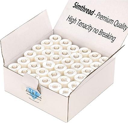/1000/piezas hilo de coser color beige Creativ Company/