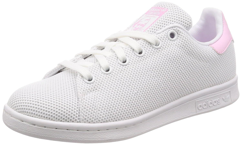 Adidas Stan Smith W, Zapatillas de Deporte para Mujer 37 1/3 EU|Blanco (Ftwbla/Ftwbla/Rosmar 000)