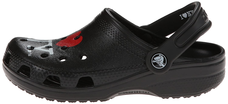 K Crocs Kids I Love New York Classic Clog Black 6 M US Toddler 15394 I Love NY Classic