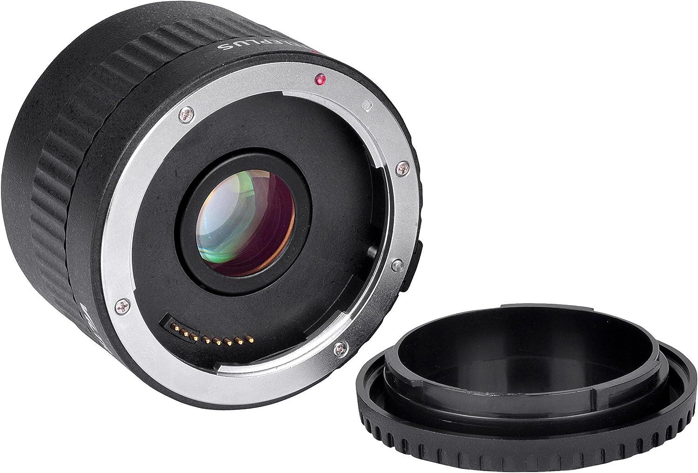 agrandissement Tubes pour objectif Canon EF CameraPlus Doubleur Teleplus C-AF 2.0x pour Canon EOS EF// Autofocus TELEPLUS