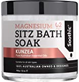 Soothic Sitz Bath Soak - Postpartum Hemorrhoid Treatment - 32 Oz Magnesium Epsom Bath Salt, with Skin Enriching…
