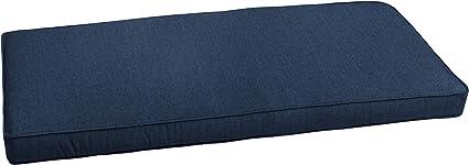 Amazon Com Mozaic Amzcs113347 Sunbrella Indoor Outdoor Corded Bench Cushion 56 X19 5 Spectrum Indigo Garden Outdoor