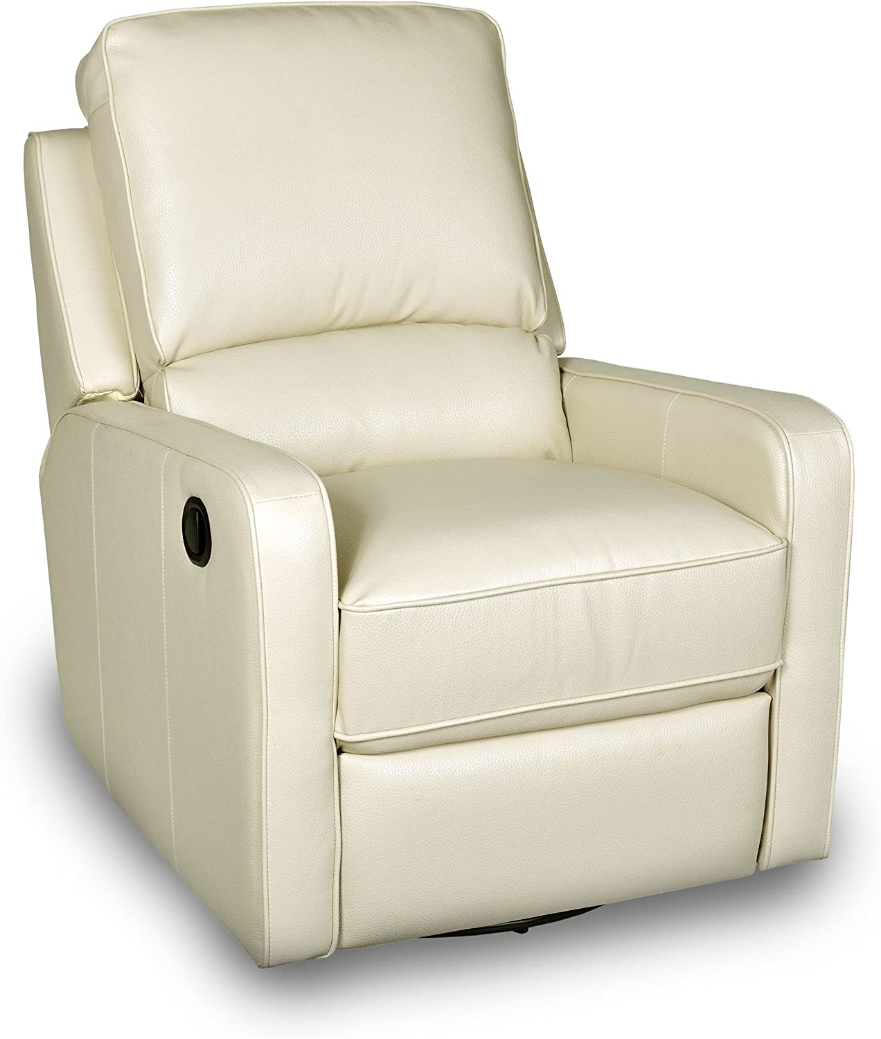 Opulence Home Perth Swivel Glider Recliner, Somerset cr me II