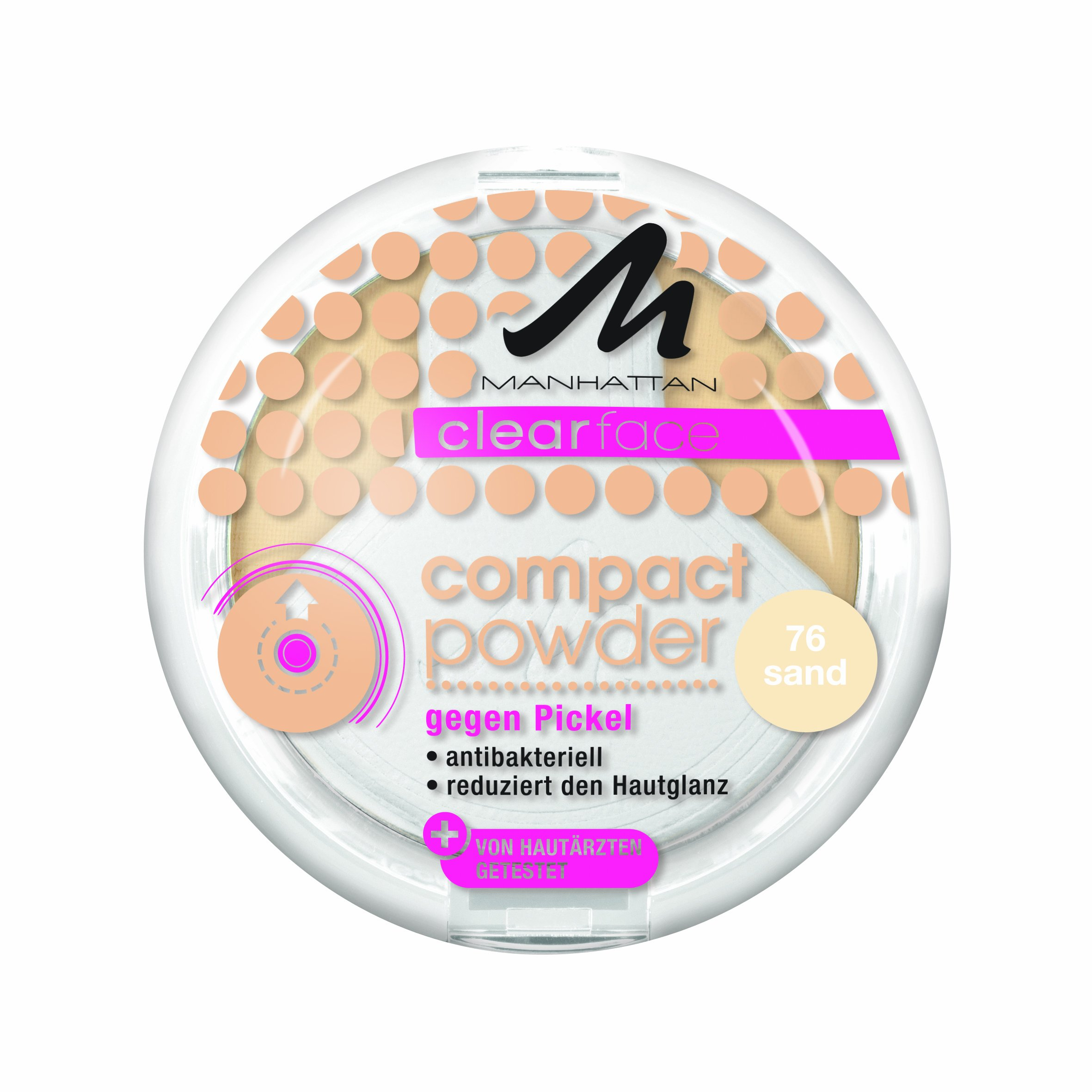 Manhattan CF Compact Powder 76 1er Pack (1 x 9 g) product image