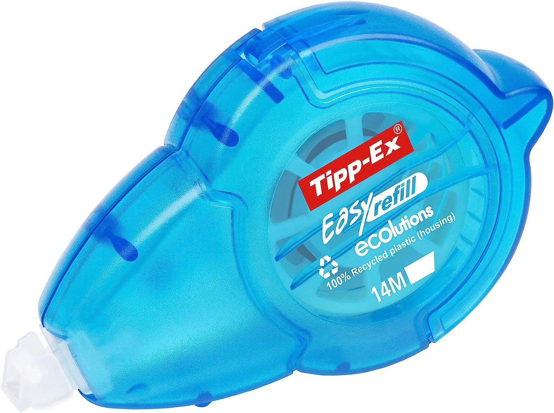 Tipp-Ex Korrekturroller ECOlutions Micro Tape mit Bandschutzkappe Displaybox /à 10 St/ück 6 m x 5 mm