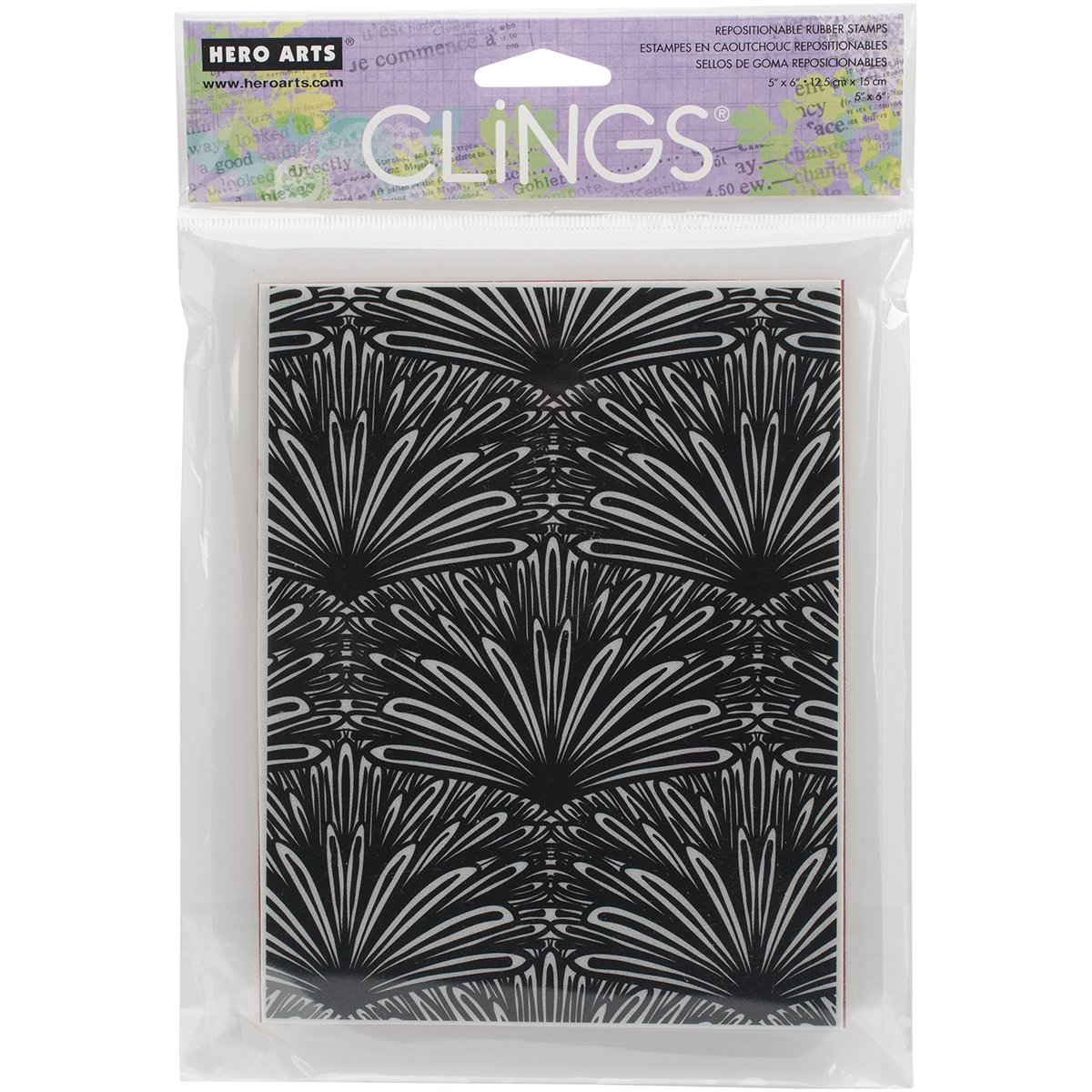 Hero Arts CG659 Tropical Background Cling Stamp