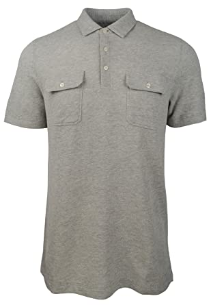 d7eb40de Michael Kors Men's Textured Dual Pocket Polo Shirt at Amazon Men's ...