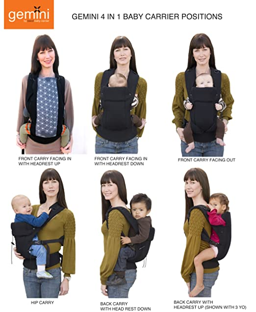Amazon Beco Baby Carrier Gemini Sierra Child Carrier Front