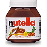 Nutella Hazelnut Spread, 7.7 Ounce Jar (12 Count)
