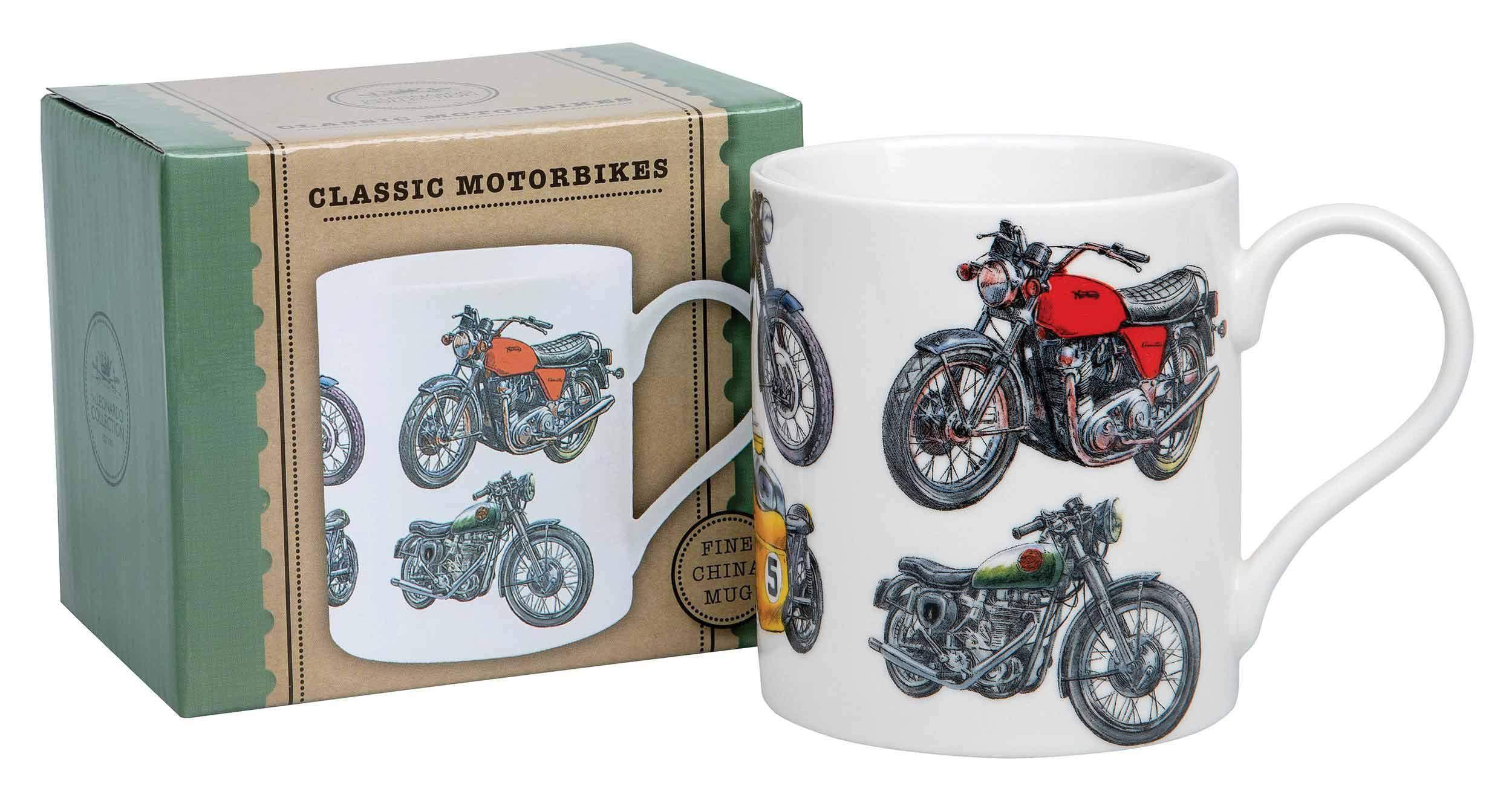 Classic Motorbikes Mug Gift Boxed