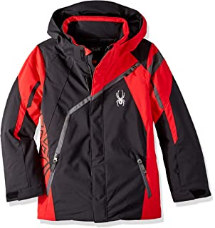 5f74b790e Spyder Boys  Challenger Jacket  Amazon.co.uk  Sports   Outdoors