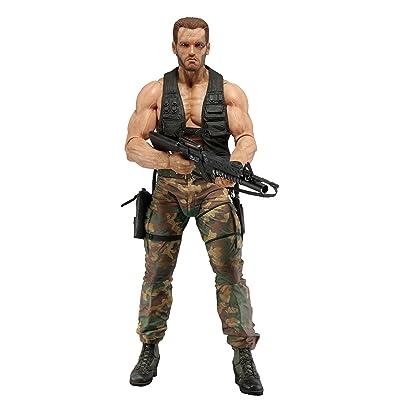 """NECA - Predator - 7"""" scale action figure 30th anniversary Jungle Encounter Dutch: Toys & Games"""