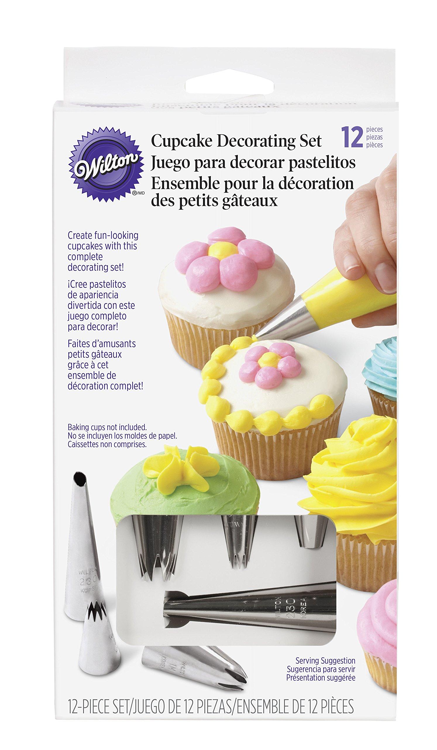 Wilton 2104-6667 12-Piece Cupcake Decorating Set