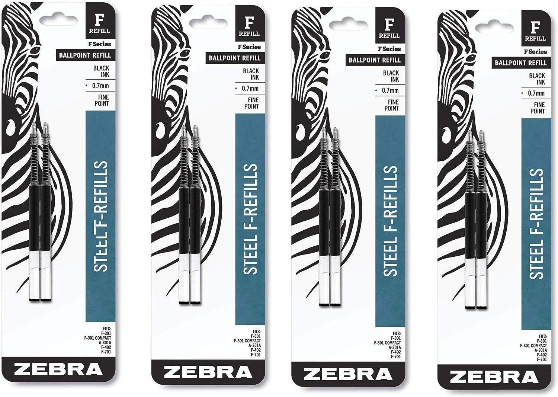 Amazon.com: Zebra (R) recambios para plumas F, 4 unidades de ...