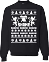 game of thrones queen cersei walk of shame ugly christmas sweater Unisex Sweatshirt