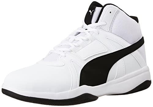 c3b63751074522 Puma Men s Rebound Street Evo Sl Idp White and Black Sneakers - 9 UK India