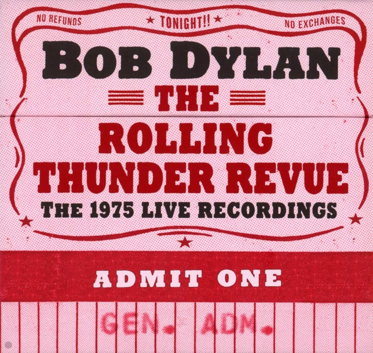 The Rolling Thunder Revue: The 1975 Live Recordings by Legacy Recordings