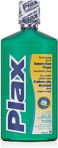 Plax Plaque Loosening Rinse, Soft Mint 24 fl oz (2 Pack)