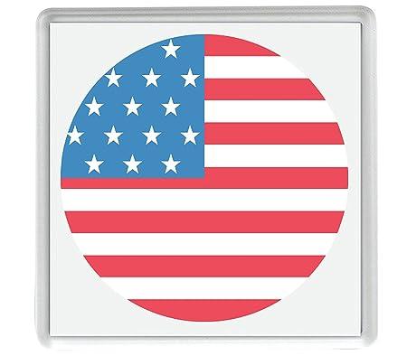 IamEngland Marca para Estados Unidos Emoji 58mm x 58mm Nevera imán ...