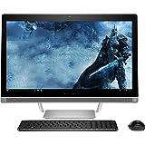 HP Premium All in One Desktop 23.8 Inch Full HD (1920x1080), 6th gen Intel Core i3-6100T 3.2Ghz processor, 8GB Ram, 1TB HDD,DVD Burner, WiFi/HDMI/Webcam, Win 10, Included Keyboard and Mouse