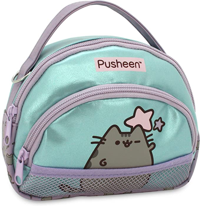 Neceser Doble para niña Pusheen The Cat Estuche/Neceser Net Rectangular, tamaño Mediano.: Amazon.es: Equipaje