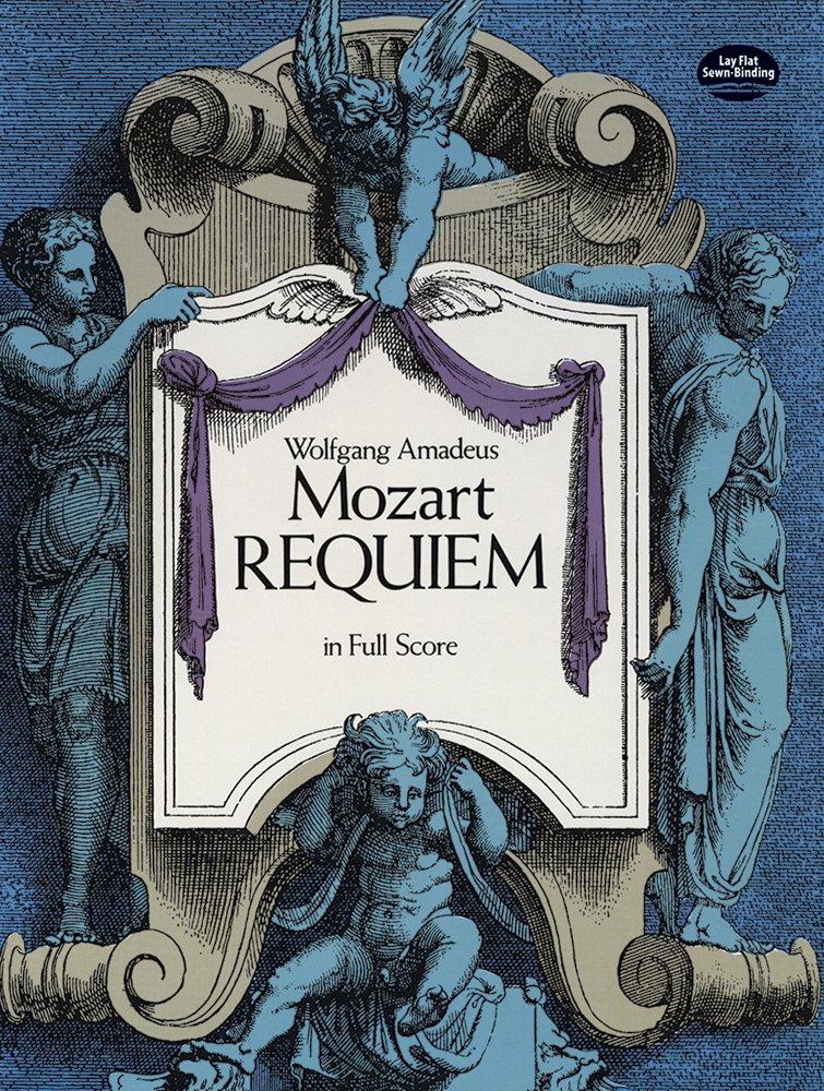 Requiem in Full Score Dover Miniature Music Scores