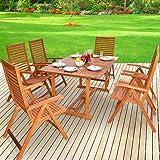 Amazon De Gartengarnitur Sitzgruppen Gartenmobel Set Holz Akazie