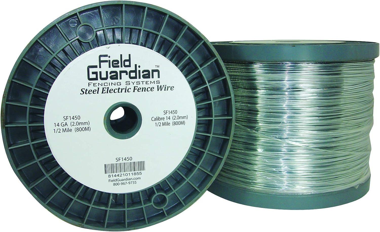 B00442T4GQ Field Guardian 14-Guage Galvanized Steel Wire, 1/2 Miles 81ewW7Ht-VL.SL1500_