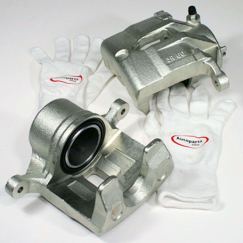 Autoparts-Online Set 60015556 Bremssattel Bremszange vorne Links und rechts f/ür die Vorderachse