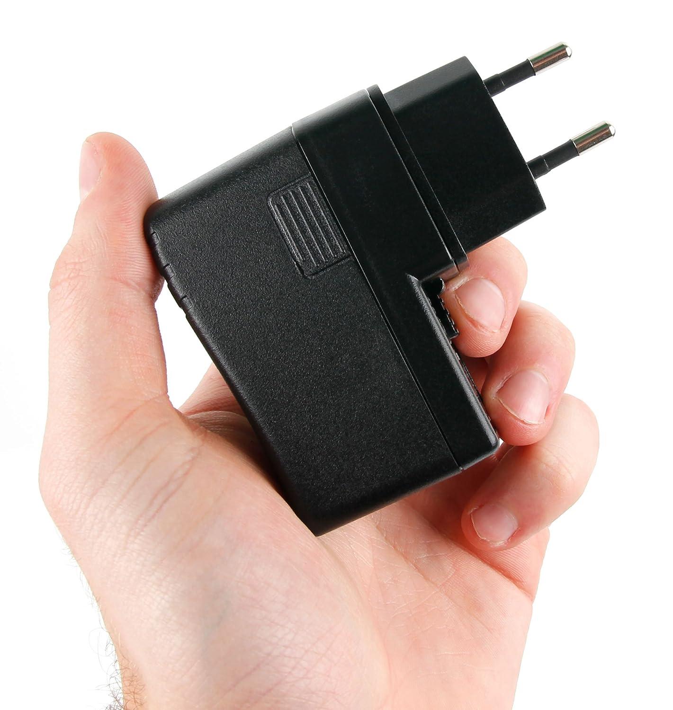 Canon Zoemini//Zoemini S et C Imprimante Photo instantan/ée Portable//Appareil Photo DURAGADGET Chargeur Secteur de Voyage USB Puissant pour Kodak Smile//Mini 2 HD