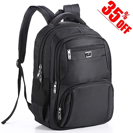 Upgraded   17 Inches Laptop Backpack with Rain Cover Computer Business Bag  Water-Proof 947f8484254e8