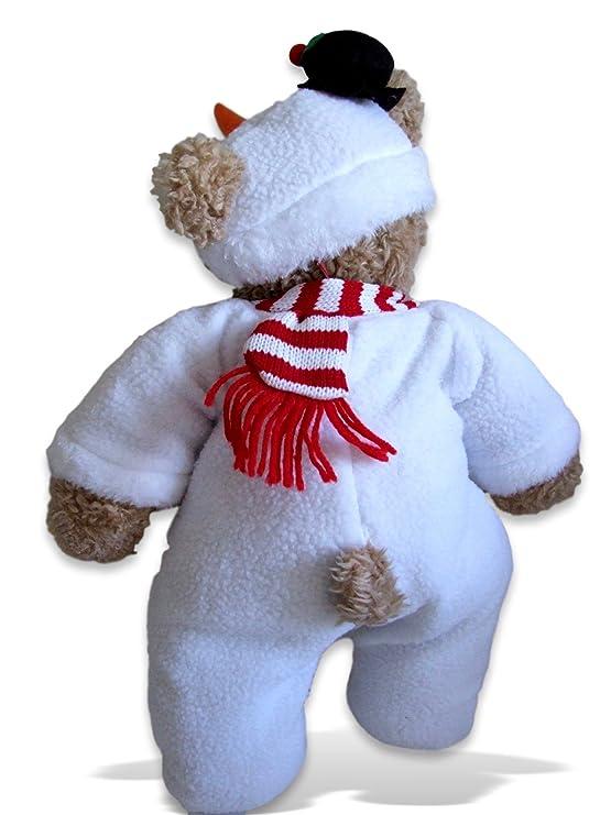 Construya su Bears Armario 15-Inch Ropa para Construir un Oso Pap/á Noel Onesie Disfraz