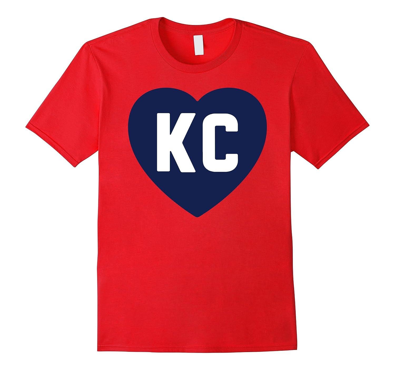 KC Heart Love Kansas City T-Shirt-RT