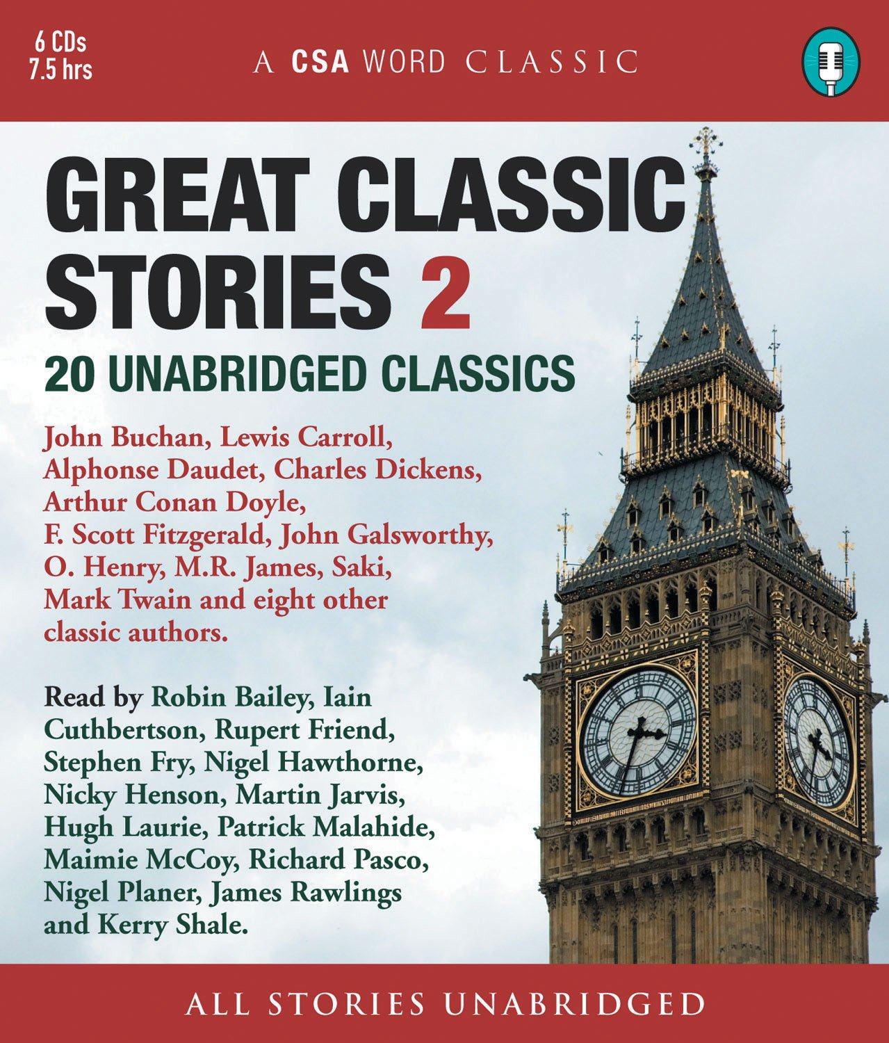 Great Classic Stories 2: 20 Unabridged Classics (A CSA Word Classic) by Brand: CSA Word