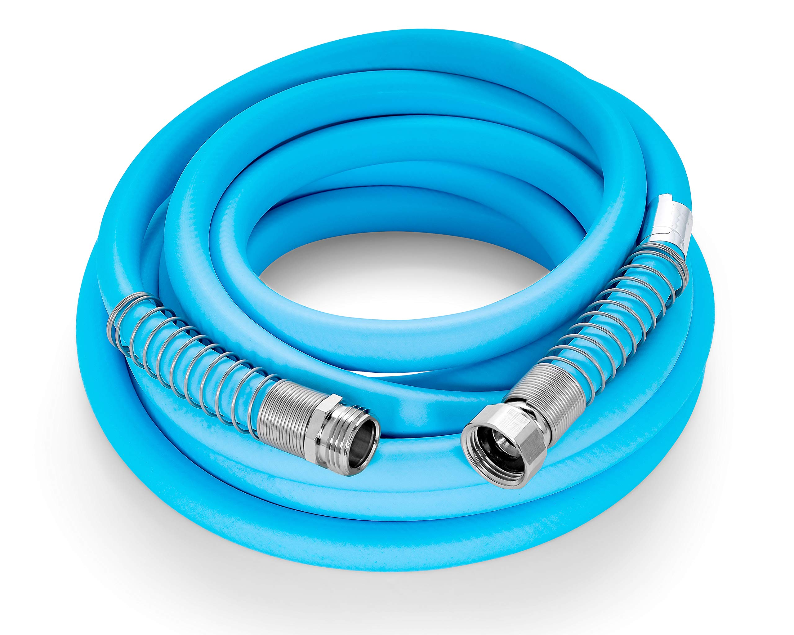 Camco EvoFlex 25-Foot Hose | 5/8-inch Diameter | Designed for Recreational Use | Drinking Water Safe | Super Flexible (22594) by Camco