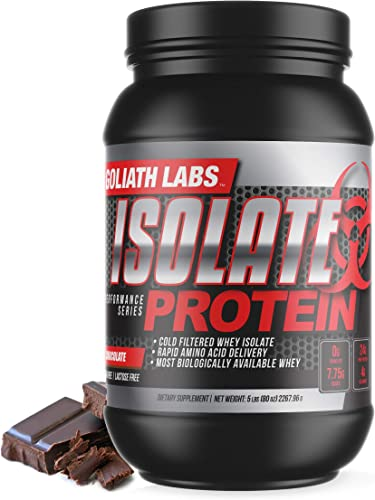 Goliath Labs Isolate Protein 5 Lbs Chocolate