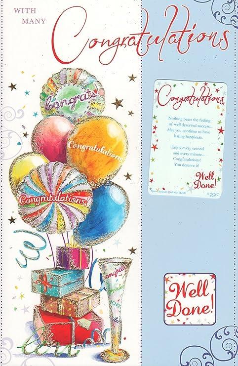 Tarjeta de felicitaciones con diseño - con muchas ...