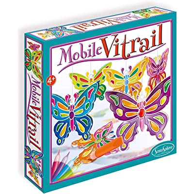 "Sentosphère 3900243 ""Mobile Butterfly Craft Set: Toys & Games"