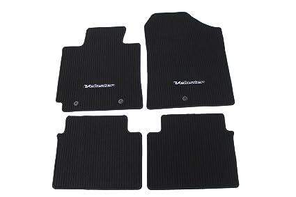 Amazon.com  Genuine Hyundai Accessories 2VF14-AC000RY Black Carpeted ... cf81395cdd01