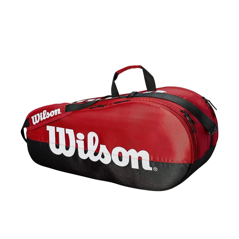 注文割引 Wilson Team Racket Hold テニスバッグシリーズ B07JCCXBV7 ブラック/レッド 6 B07JCCXBV7 Racket Hold 6 Racket Hold|ブラック/レッド|チーム 2, ハチジョウマチ:3879f017 --- vanhavertotgracht.nl