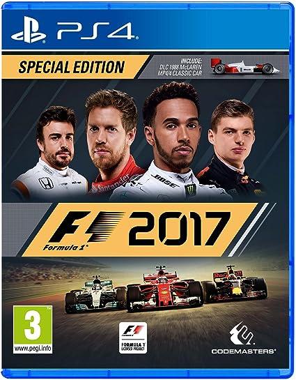 Codemasters F1 2017 Special Edition, PS4 Especial PlayStation 4 Alemán vídeo - Juego (PS4, PlayStation 4, Racing, E (para todos)): Amazon.es: Videojuegos