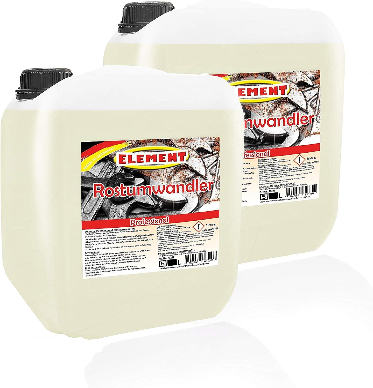 Rostumwandler RostlÖser 2x 5 Liter Premium Entroster Rostentferner Rostschutz Drogerie Körperpflege