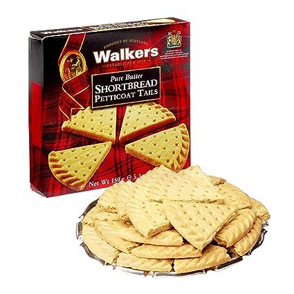 Walkers Shortbread Petticoat Tails Postre - 6 Paquetes de 1 x 150 gr - Total: 900 gr: Amazon.es: Alimentación y bebidas