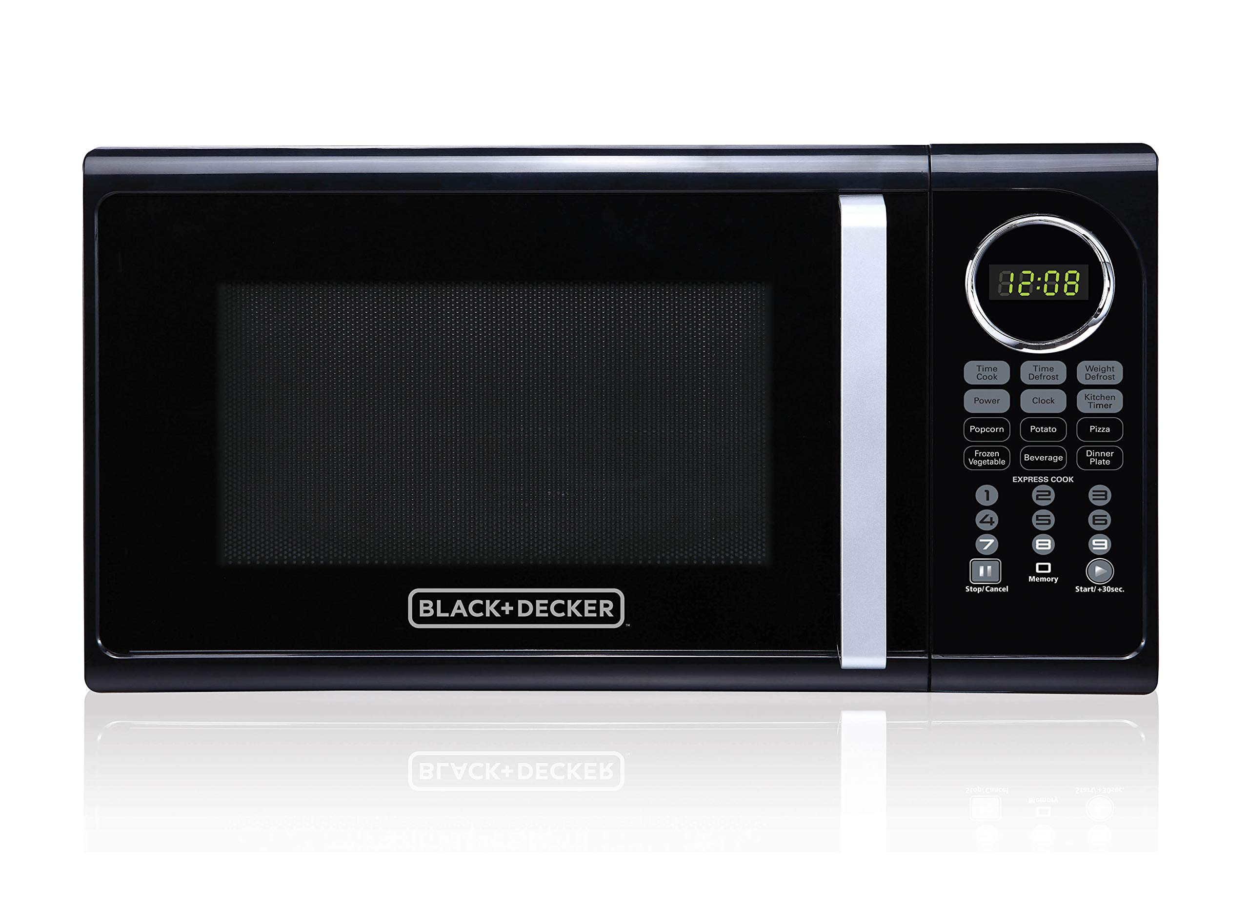 Black+Decker EM925ACP-P2 0.9 Cu. Ft. Digital Microwave, Black by BLACK+DECKER