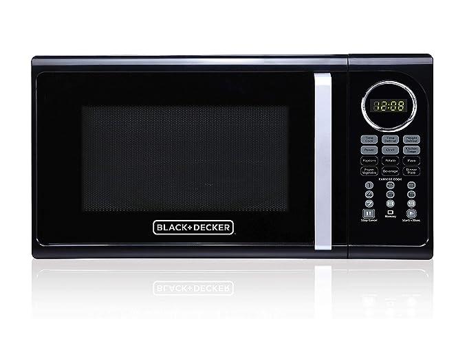 Amazon.com: Black+Decker EM925ACP-P2 0.9 Cu. Ft. Microondas ...