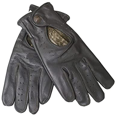 917c4ec1784754 German Wear Driving Autofahrer-Handschuhe Lederhandschuhe Lammnappa  echtleder Retro weinrot: Amazon.de: Bekleidung