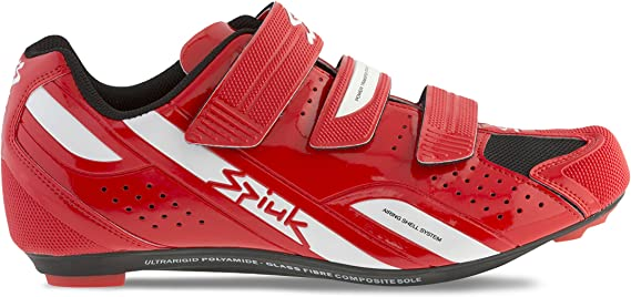 Spiuk Rodda Road - Zapatillas Unisex, Color Rojo/Blanco, Talla 49: Amazon.es: Zapatos y complementos